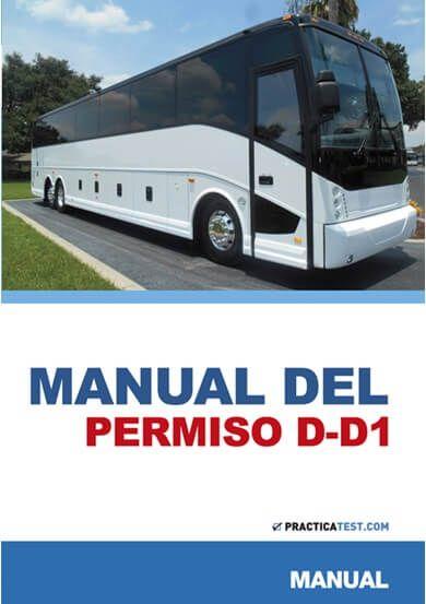 Libro Permiso D-D1 - Autobús