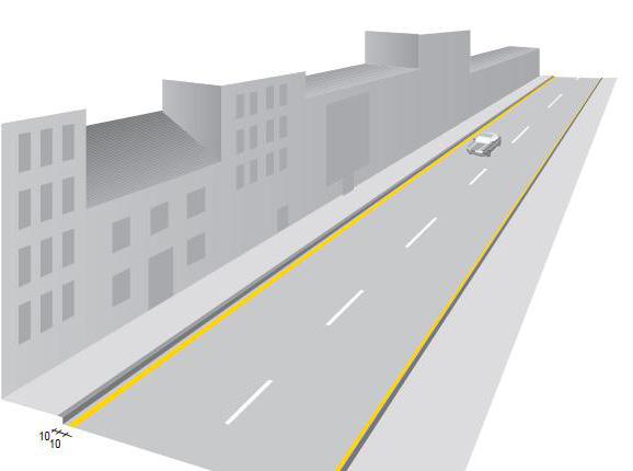Línea de prohibición de estacionamiento