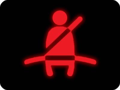 Indicador del Cinturón de seguridad