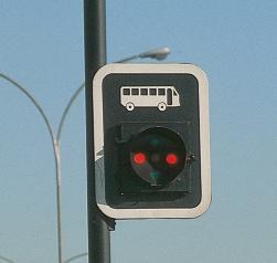 Semáforo para transporte público
