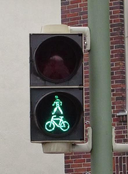 Semáforos para peatones y ciclistas