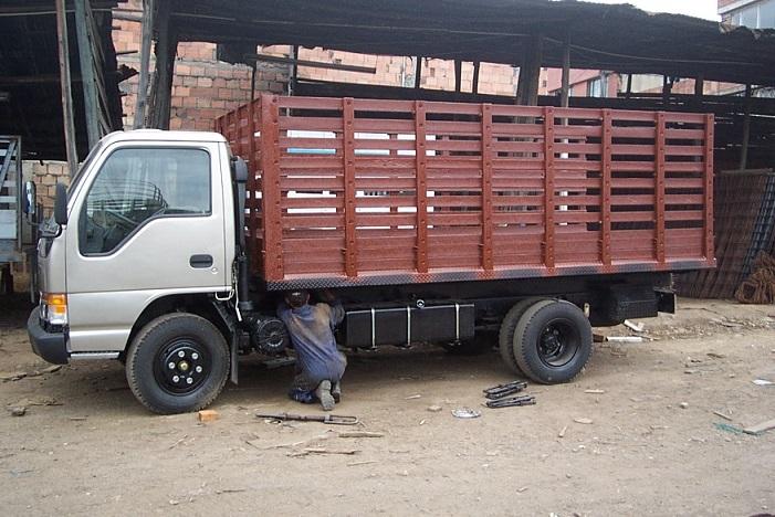 Vehículo de carga