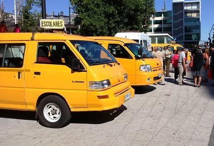 Vehículo de transporte escolar