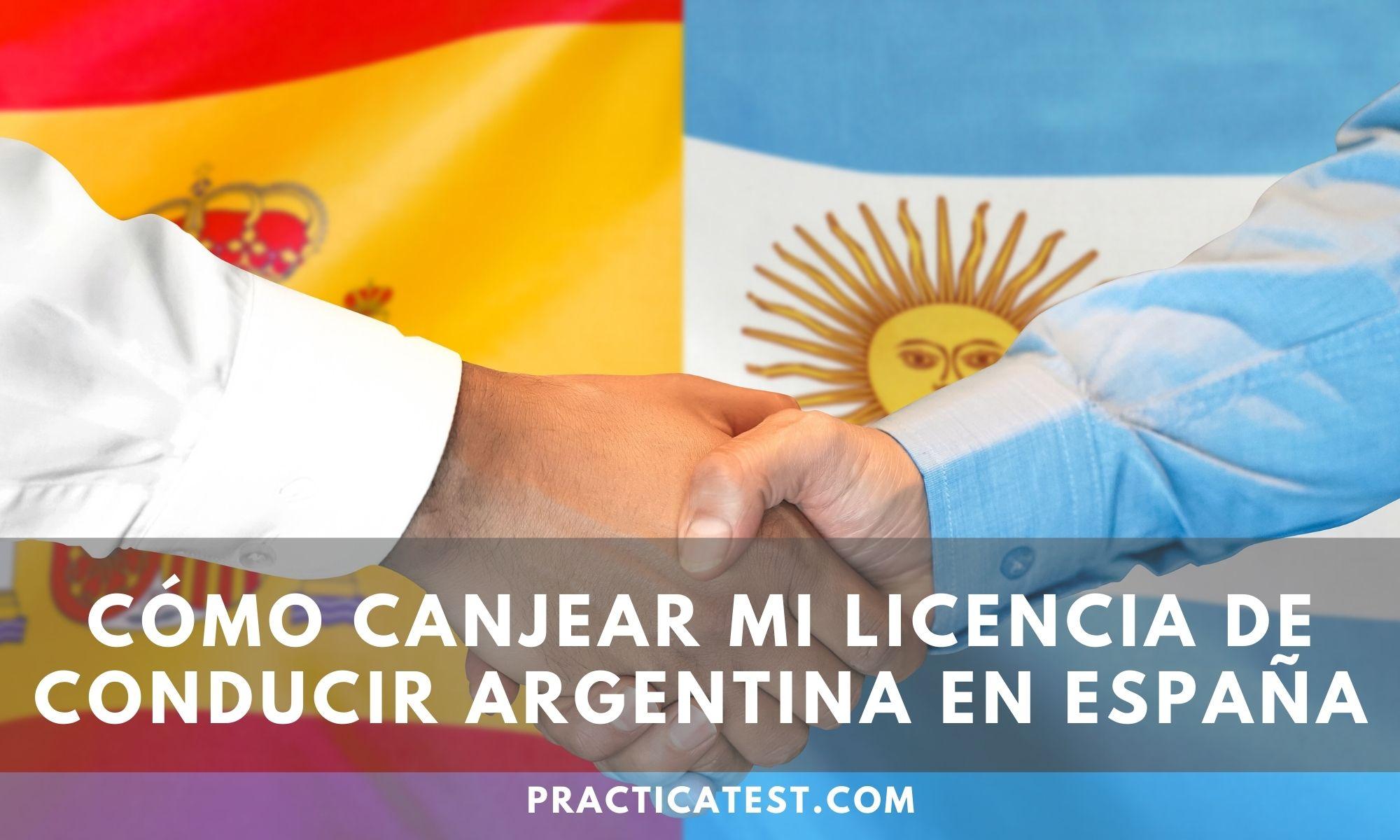 Cómo realizar el canje de una licencia de conducir Argentina