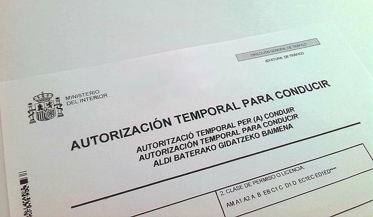 Cómo conducir por España con el carnet de conducir provisional