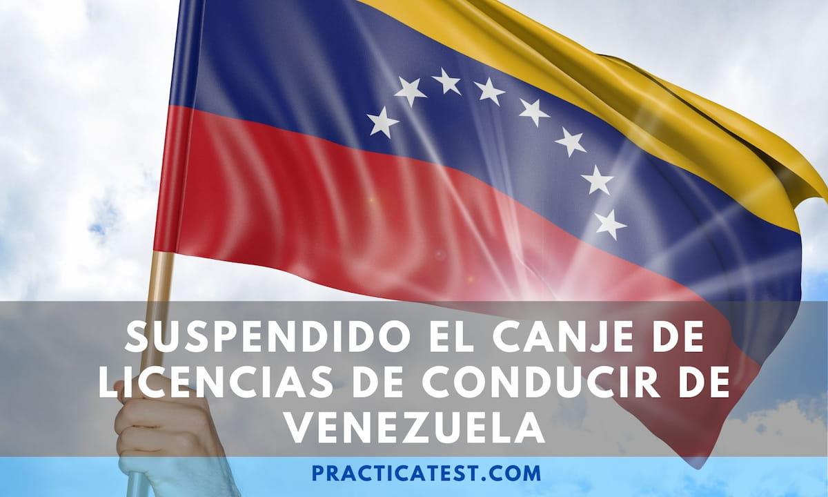 Supenden la homologación de licencia de conducir de Venezuela