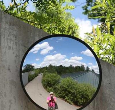 exterior mirrors convex